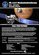 Call for Papers - 46. I.A.F. Studentenkonferenz